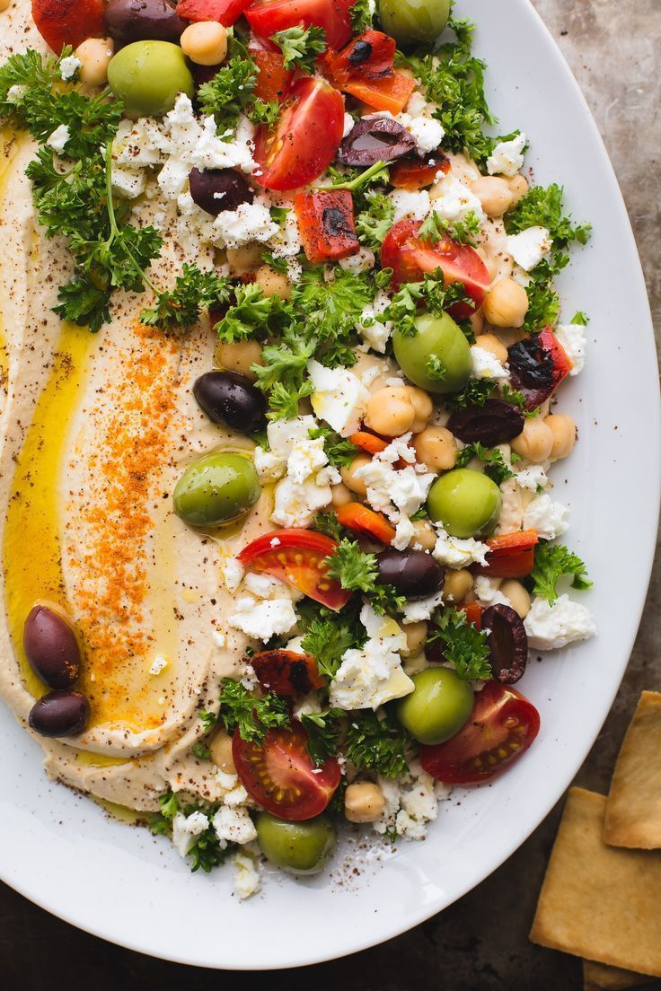 Loaded Hummus Is the Dreamiest Appetizer for Summer Parties