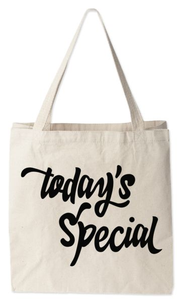 Love this tote bag from Today's Special. Today's Special