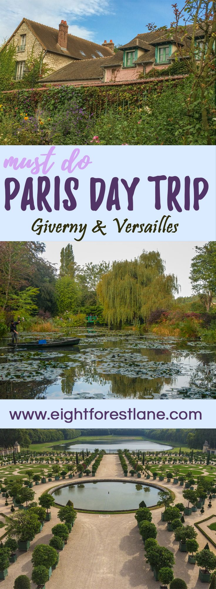 A Day Trip From Paris: Giverny & Versailles