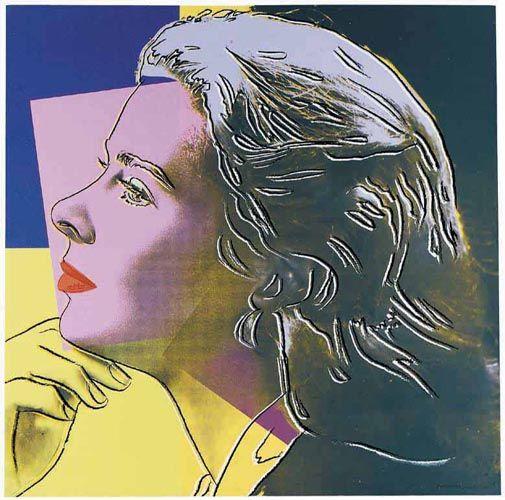 'Ingrid Bergman (als sie selbst)' von Andy Warhol (1928-1987, United States)