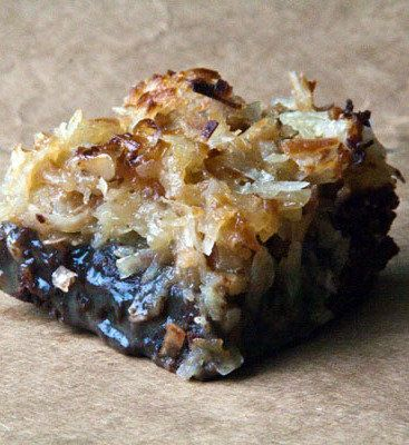 Recipe for German Chocolate Brownies