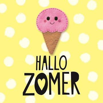 Hallo zomer! #Hallmark #HallmarkNL #hallo #zomer #ijs #hello #summer