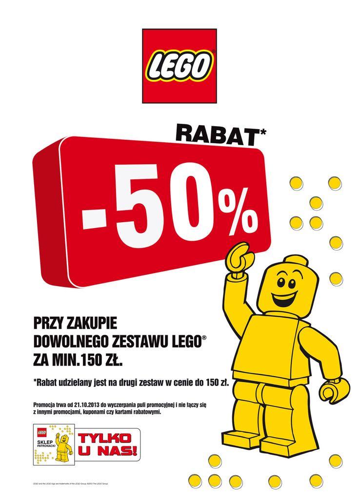 Rabat 50% na ukochane klocki!