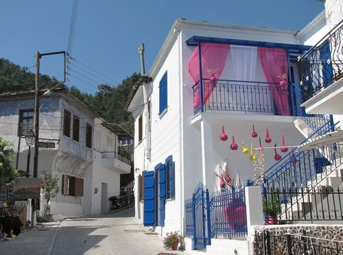 santoriniblog:  Panagia village - Thassos island