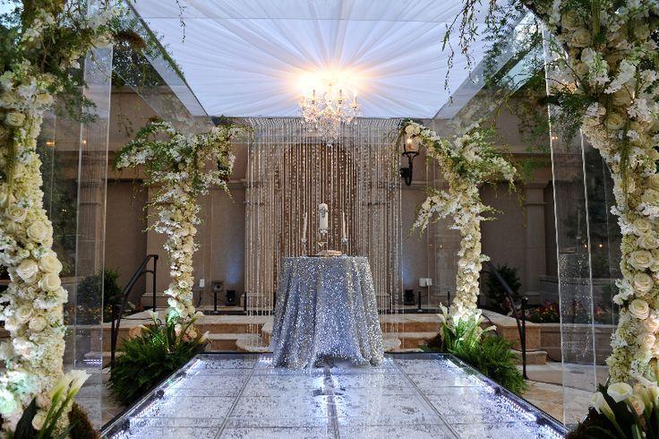 Kordell & Porsha Stewart's Bling Ceremony Platform By