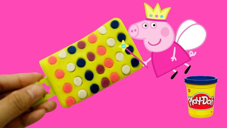 Peppa Pig & Ice Cream Play doh! DIY How to Make Ice Cream with Playdoh V...