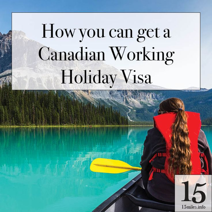 Want to work and travel in Canada? It's easy with the Canadian working holiday visa program