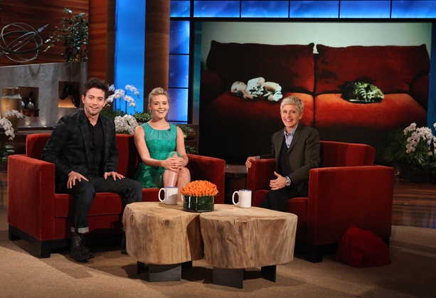 Jackson Rathbone and Maggie Grace visit for Twilight Week!