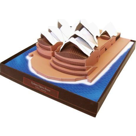 Sydney Opera House, Australia,Architecture,Paper Craft,Asia / Oceania,Australia,white,world heritage,building,Sydney,opera house