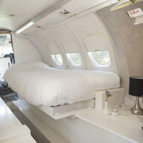 Bijzonder overnachten in vliegtuig