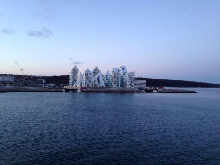 Ny Århus set fra vandet