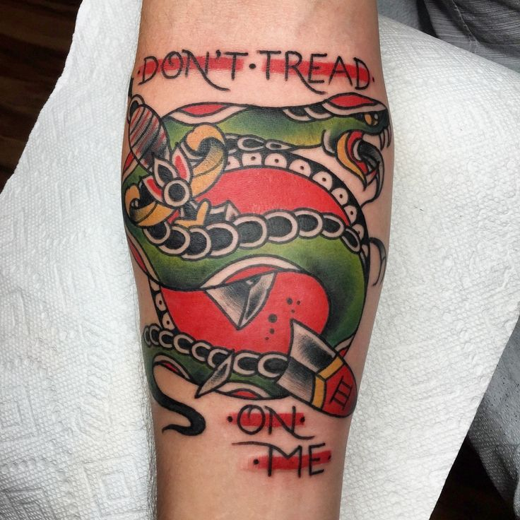 Dont Tread On Me Snake Tattoo 17 Best Images About Snake Tattoo On