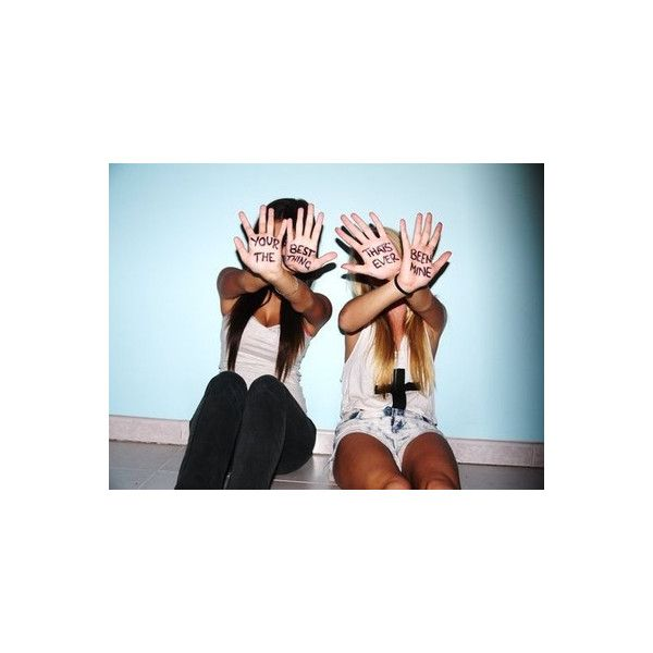 Best Friends Tumblr Liked On Polyvore Photo Ideas Pinterest Bestfriends And Picture