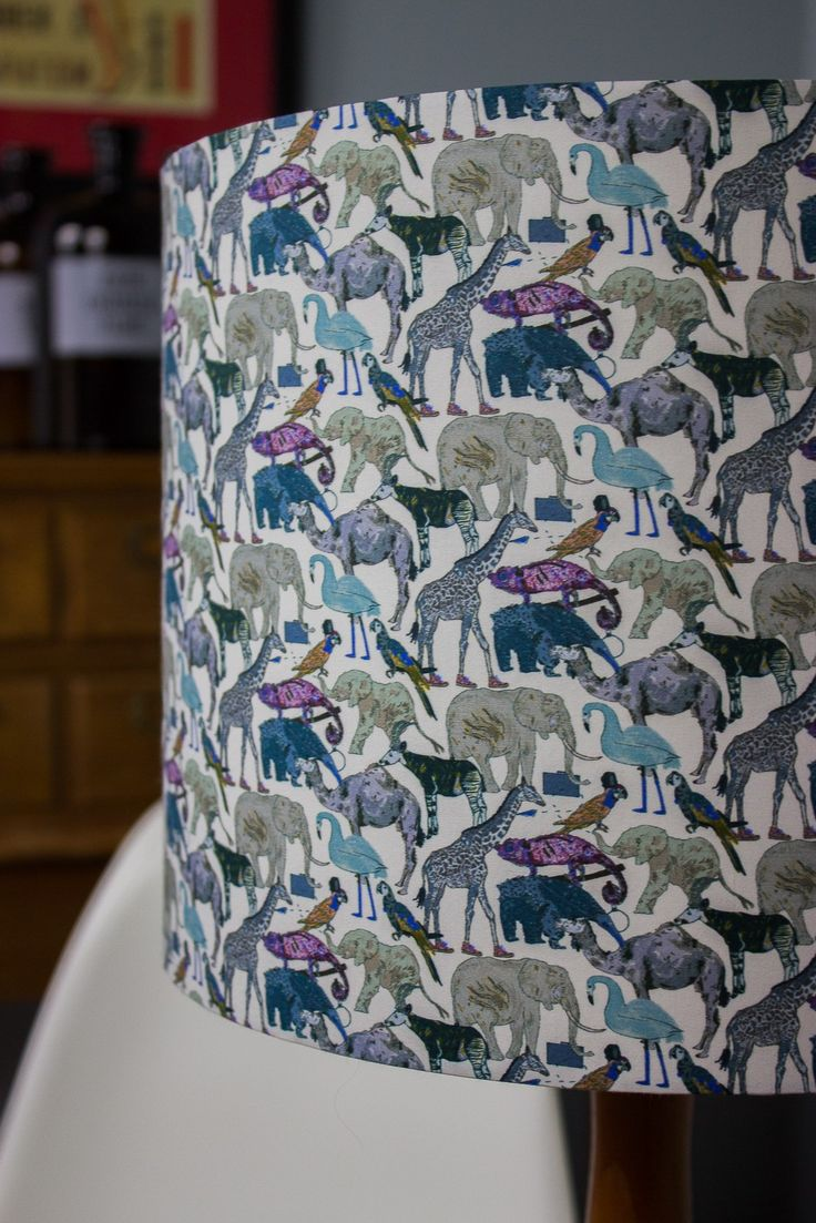 Liberty Queue for the Zoo Fabric Lampshade