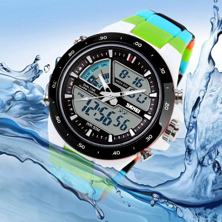 US $103.00 - New 2016 Brand SKMEI Watches Men Sports Relojes Male Clock Dive Swim Fashion Digital Watch Military Multifunctional Wristwatches