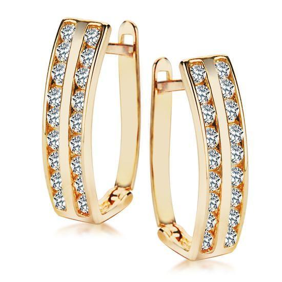 Złote Kolczyki, 579PLN www.YES.pl/54442-zlote-kolczyki-ZW-X-X07-N00-XHB1397 #jewellery #gold #BizuteriaYES #shoponline #accesories #pretty #style