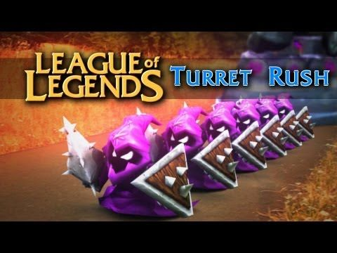 "League of Legends: Turret Rush (live action) --- lol ""it's on cooldown"""
