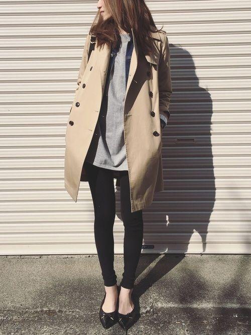 mysty womanのトレンチコート「撥水レギュラートレンチコート」を使ったSato*のコーディネートです。WEARはモデル・俳優・ショップスタッフなどの着こなしをチェックできるファッションコーディネートサイトです。