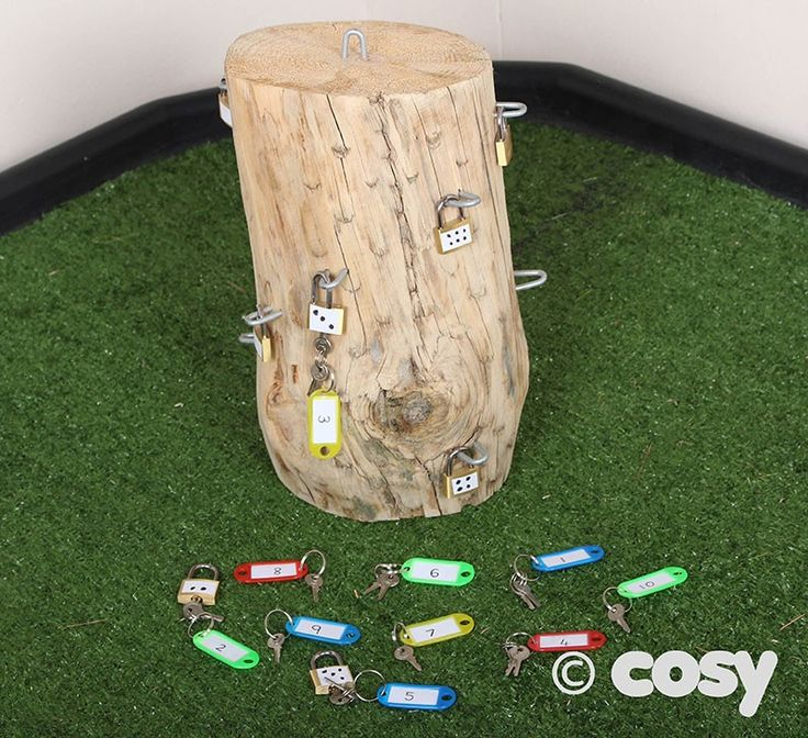 LOCKING LOG - Malleable, Sensory and Fine Motor - Early Years - Cosy Direct