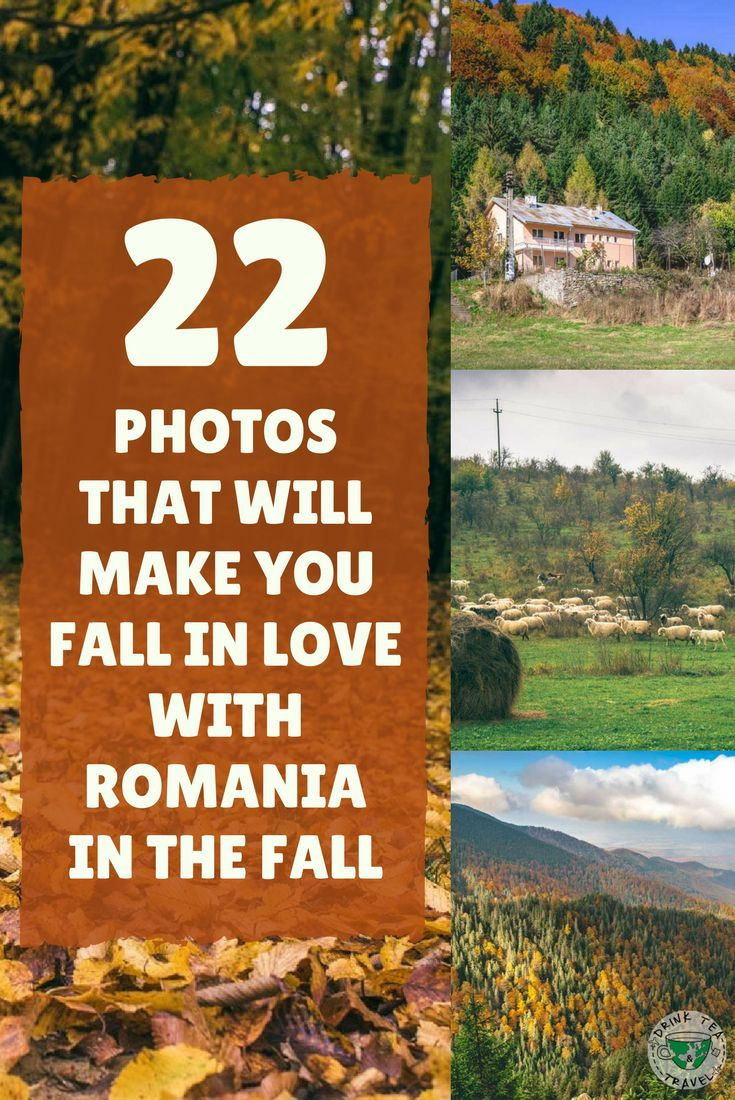 Looking for your next fall getaway? Here are 22 photos that will make you want to visit Romania in the fall.