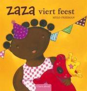 Vandaag is Roosje jarig! Zaza versiert de stoel van Roosje. En kijk, daar zijn de andere knuffels al. Ze hebben een cadeautje meegenomen! Maar wacht eens even, waar is Pinkie eigenlijk? Kan het verjaardagsfeestje zonder hem beginnen?  Een gezellig boek over een kindje, een heleboel knuffeldieren en een feestje.