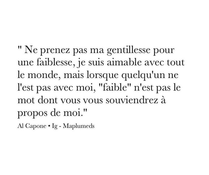 Une citation de Monsieur Al Capone !