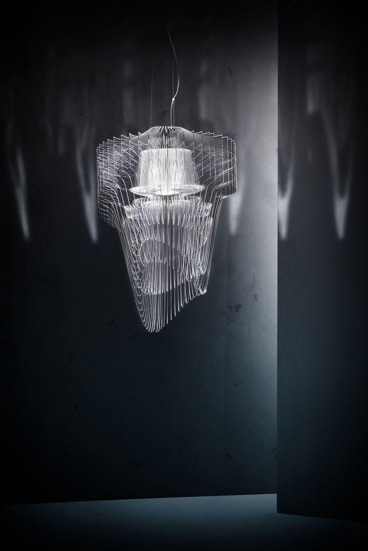 Transpa Chandelier By Zaha Hadid For Slamp
