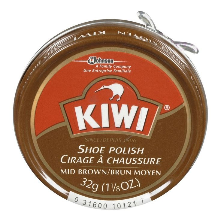 Buy kiwi mid brown shoe polish 32 g from value valet
