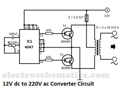18 Best Inverter Converter Images On Pinterest Circuit Diagram 12 Volt Inverter Circuit Rv Converter Installation 9 Volt Inverter Schematic At IT-Energia.com