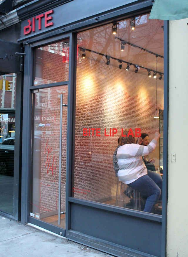 How to Be a Champion Beauty Tourist in New York City - BITE LIP LAB custom lipstick