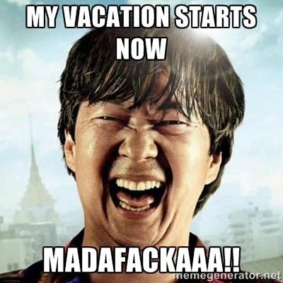 I'm on Vacation! Pina Coladas, Island Hopping, Off The Grid!