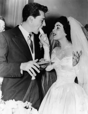 Elizabeth Taylor´s Wedding Day to Nicky Hilton 1950.