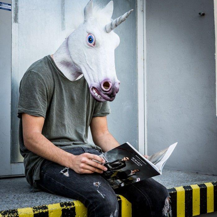 Maschera Unicorno Magico
