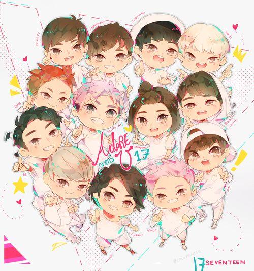 KPOP BTS EXO TWICE SEVENTEEN GOT7 Cute Mini Hand Fan ...