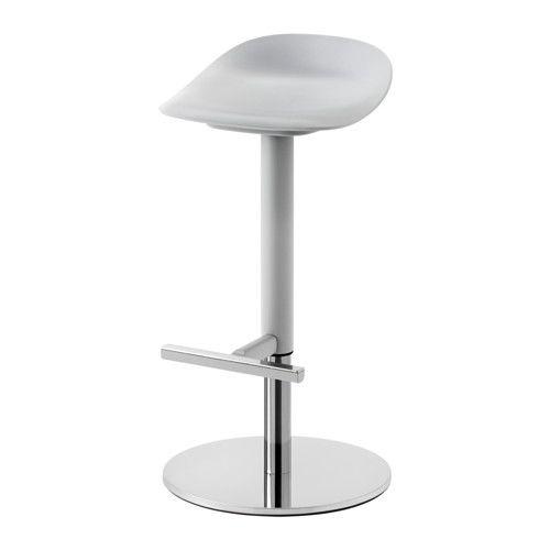 janinge tabouret de bar ikea la forme du sige offre un grand confort dassise - Pied Table De Bar