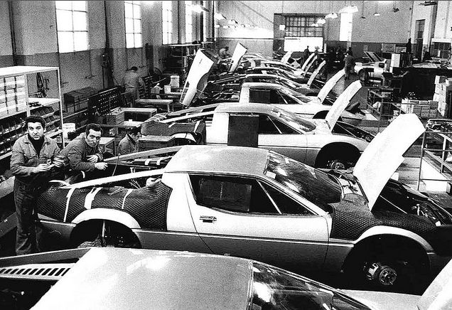 Maserati Bora and Merak assembly