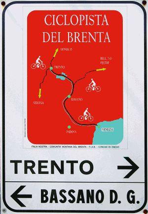 ciclopista del Brenta