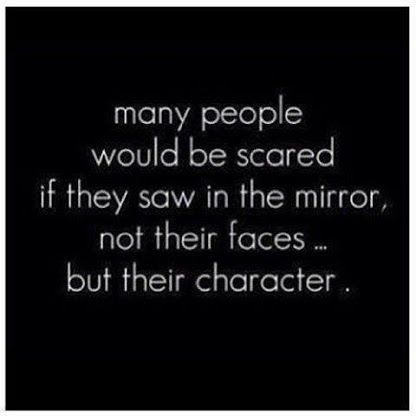 Character...need to remember to keep working on being kind,loving and gentle.