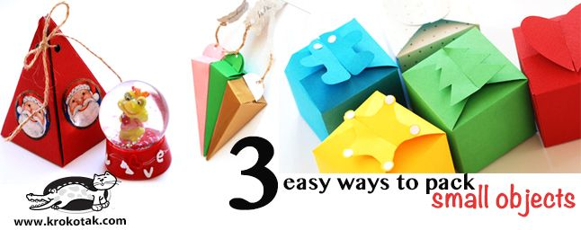Three Easy Ways to PACK SMALL OBJECTS