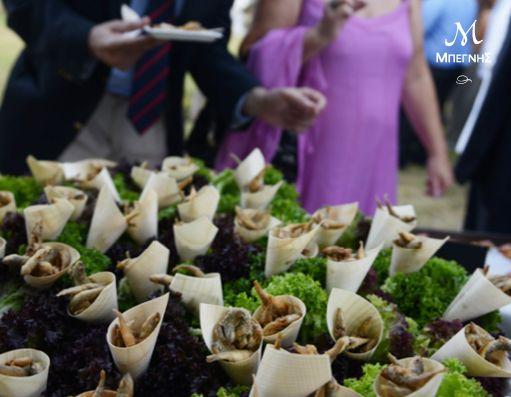 Επειδή μια επιτυχημένη παρουσίαση είναι το ίδιο σημαντική όσο και η γευστική αρτιότητα ενός μενού, δεν έχετε παρά να εμπιστευθείτε την εμπειρία της Μπεγνής! #BegnisCatering #Catering #begnisclassics #wedding #fish
