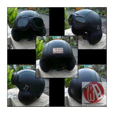 Helm Classic (HC-18) @Rp. 220.000,-   http://rumahbrand.com/helm-kustom/857-helm-classic.html