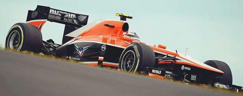 Russian super car F-1 series Marussia.
