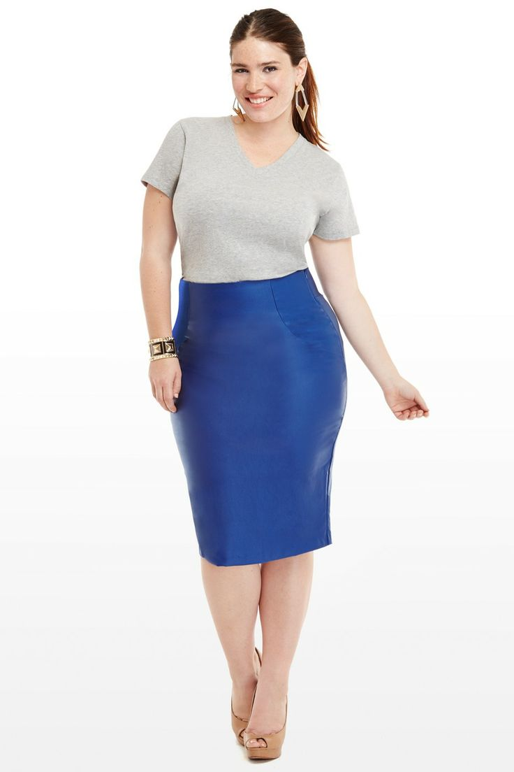 Paige coated ruched skirt ropa 22 de mayo pinterest curvy diva and wardrobes - Diva style fashion ...