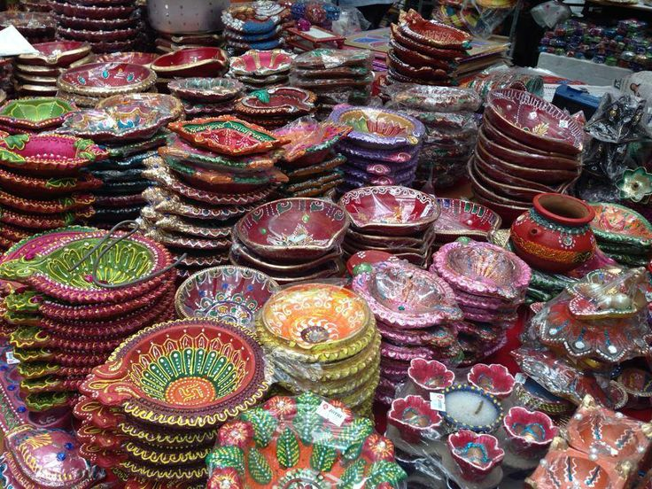 Diwali Diyas For Sale Online: 9 Best Images About A Visual Delight: Diwali Stalls In