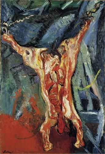 Chaïm Soutine (1893-1943) Bœuf écorché - 1925. Huile sur toile, 128,9x74,6cm. The Minneapolis Institute of Arts, Minneapolis, USA