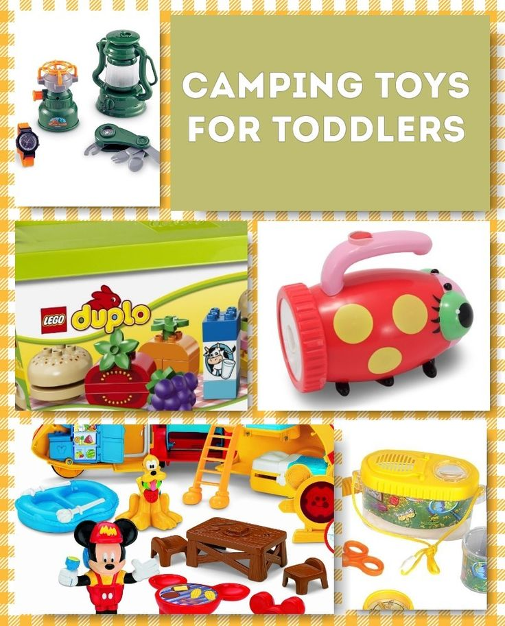 Camping Toys For Toddlers: Get them Excited about the Great Outdoors!