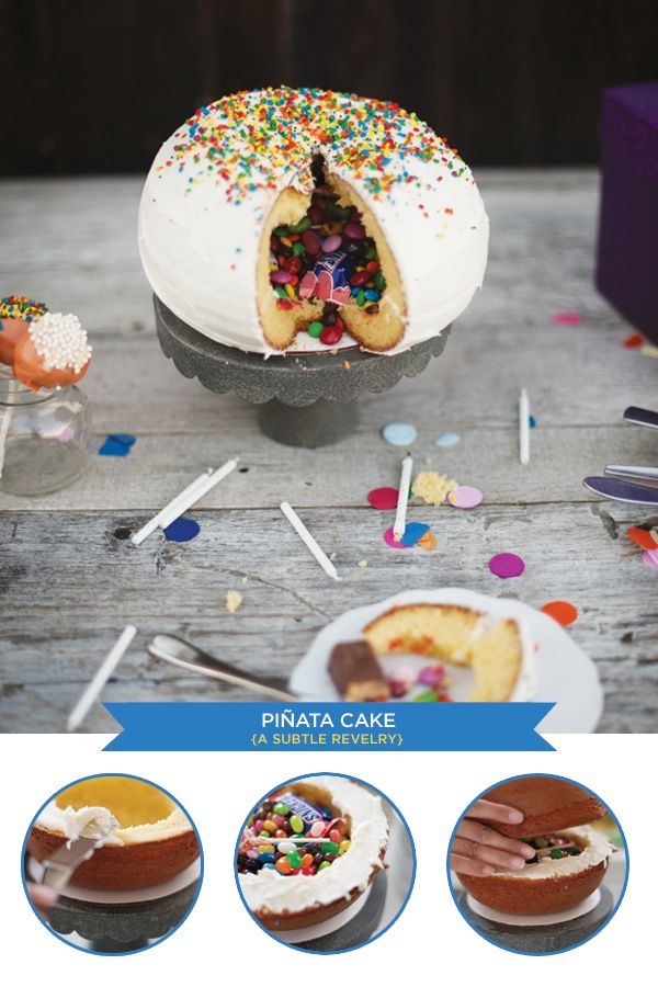 """A """"Pinata Cake"""" from A subtle revelry!"""
