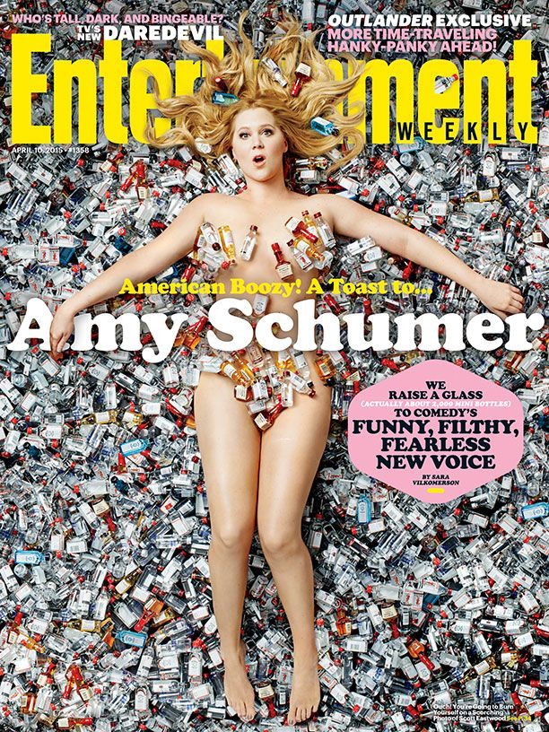 We raise 2,000 mini bottles to the funny, filthy and fearless Amy Schumer: http://ew.com/article/2015/04/02/amy-schumer-entertainment-weekly-cover #AmericanBoozy