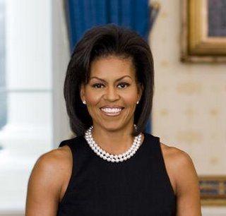 Michelle Obama Pearls