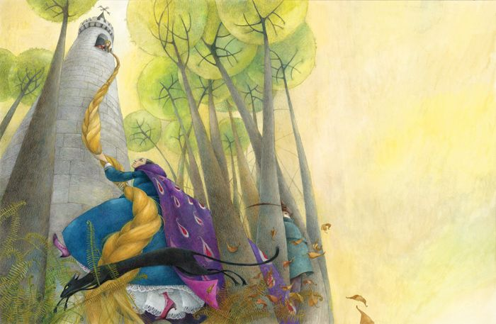 The Grimm Brothers' Fairy Tales illustrated by Lina Dudaite
